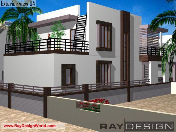 Best Residential Design in 1566 square feet - 67
