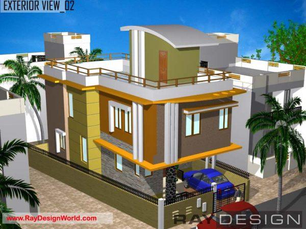 Best Residential Design in 1284 square feet - 70