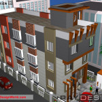 Best Commercial Complex Design in 2688 square feet - 05
