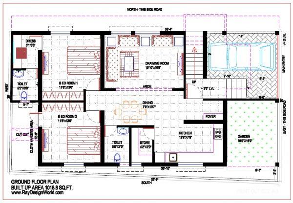 Best Residential Design in 1505 square feet - 64