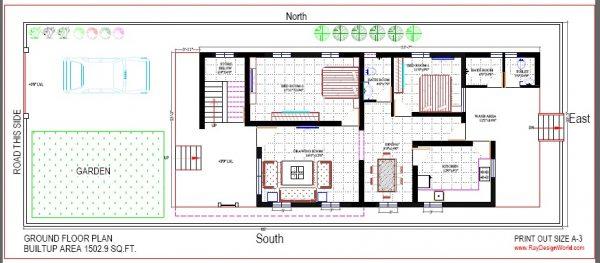 Best Residential Design in 2939 square feet - 66