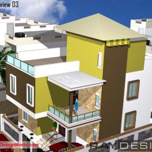 Best Residential Design in 1200 square feet - 60