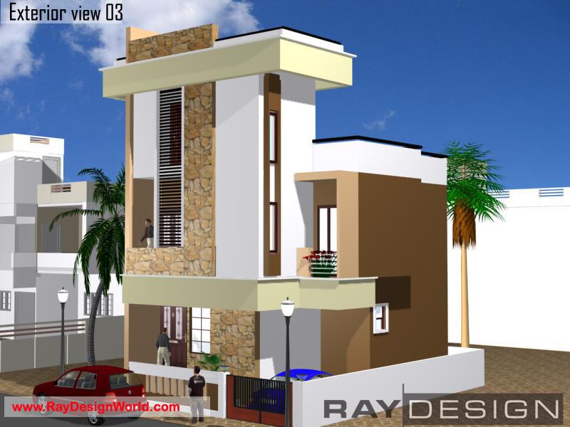 Best Residential Design in 777 square feet - 68