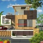 Mr.Kumar- House 3D exterior Design view 02