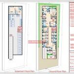 Dr.Shrinath Singh - Madla Madhya Pradesh- Hospital - Basement and Ground Floor Plan