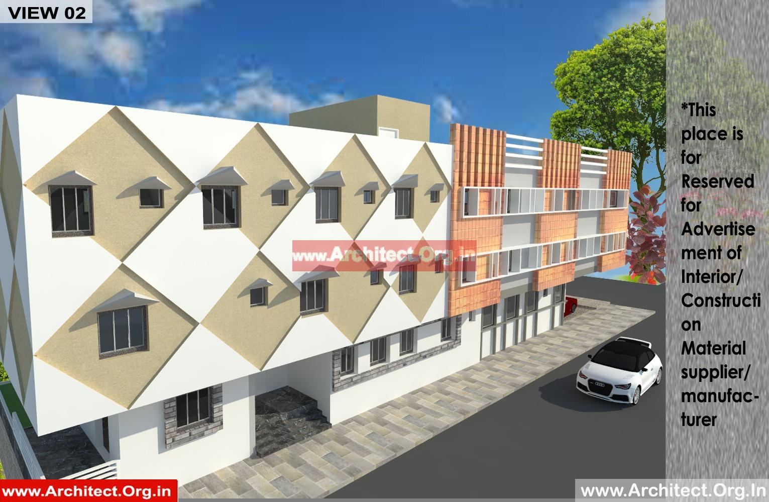 Dr Shrinath Singh - Mandla MP - Hospital cum Residence Planning