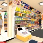 Shop Interior and Exterior Design