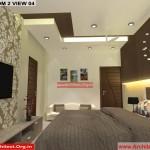House Interior Design - Nagpur Maharashtra - Bedroom 2 - Mr.Pankaj Singhania - FR Ms. Rakhi Singhania