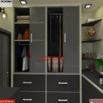 House Interior Design - Nagpur Maharashtra - Dressing room - Mr.Pankaj Singhania - FR Ms. Rakhi Singhania