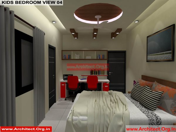 House Interior Design - Nagpur Maharashtra - Kids Bed room - Mr.Pankaj Singhania - FR Ms. Rakhi Singhania