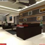 House Interior Design - Nagpur Maharashtra - Living Room - Mr.Pankaj Singhania - FR Ms. Rakhi Singhania
