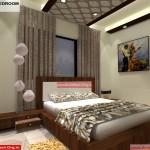 House Interior Design - Nagpur Maharashtra - Master Bedroom - Mr.Pankaj Singhania - FR Ms. Rakhi Singhania