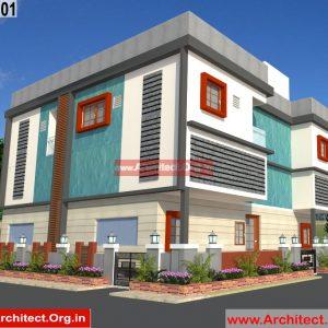 Commercial cum residential complex - Pune Maharashtra - Mr.Prakash Desarda