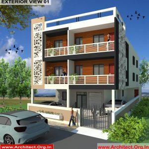 Commercial Complex Design - Muzaffarpur Bihar - Mr. Manish Kumar