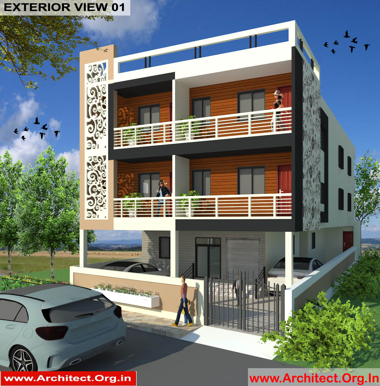 Commercial Complex Design - Muzaffarpur Bihar - Mr. Manish Kumar