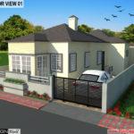 Best Residential Design in 1453 square feet – 209