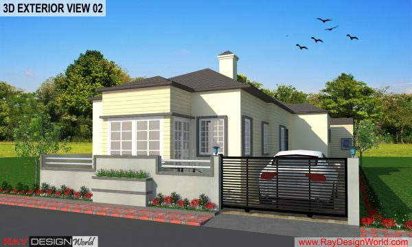 Best Residential Design in 1453 square feet – 209