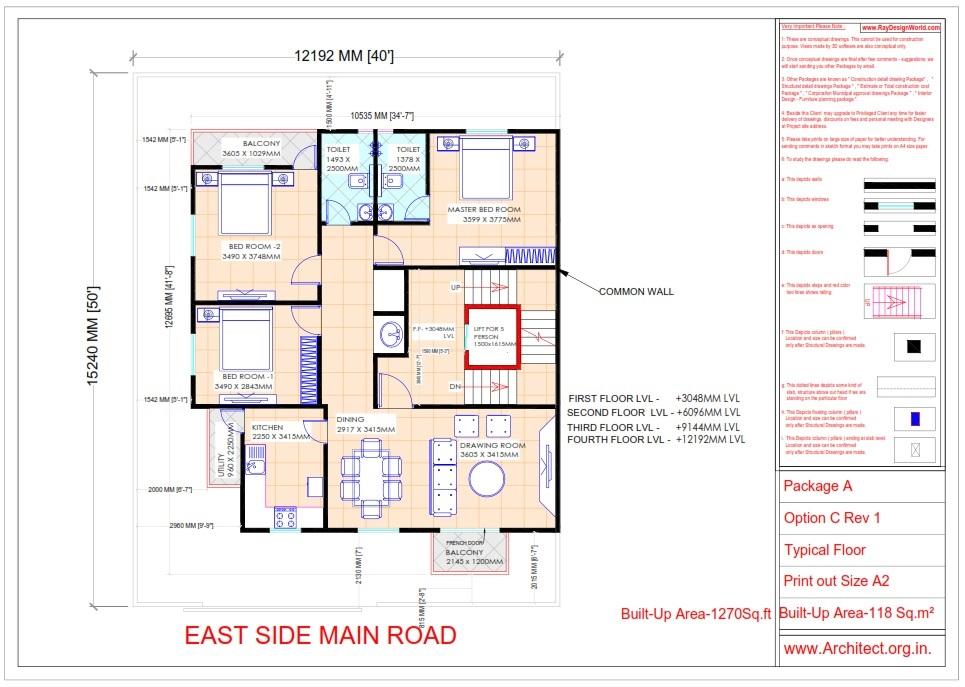 Bungalow Design - Nagpur Maharashtra - Mr. Jayant Moharkar