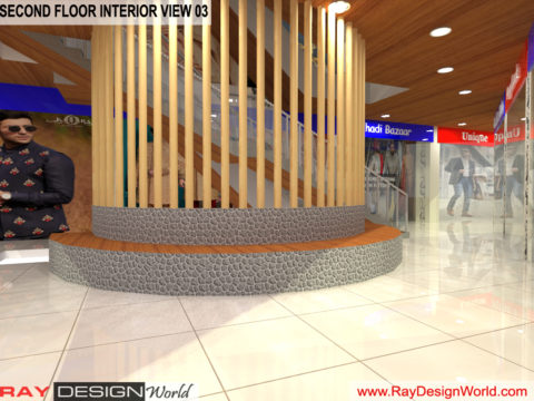 Shopping Complex Interior Design of Second floor - Annapurna Berhampur Odisha - Mr.Bichitra Patnaik