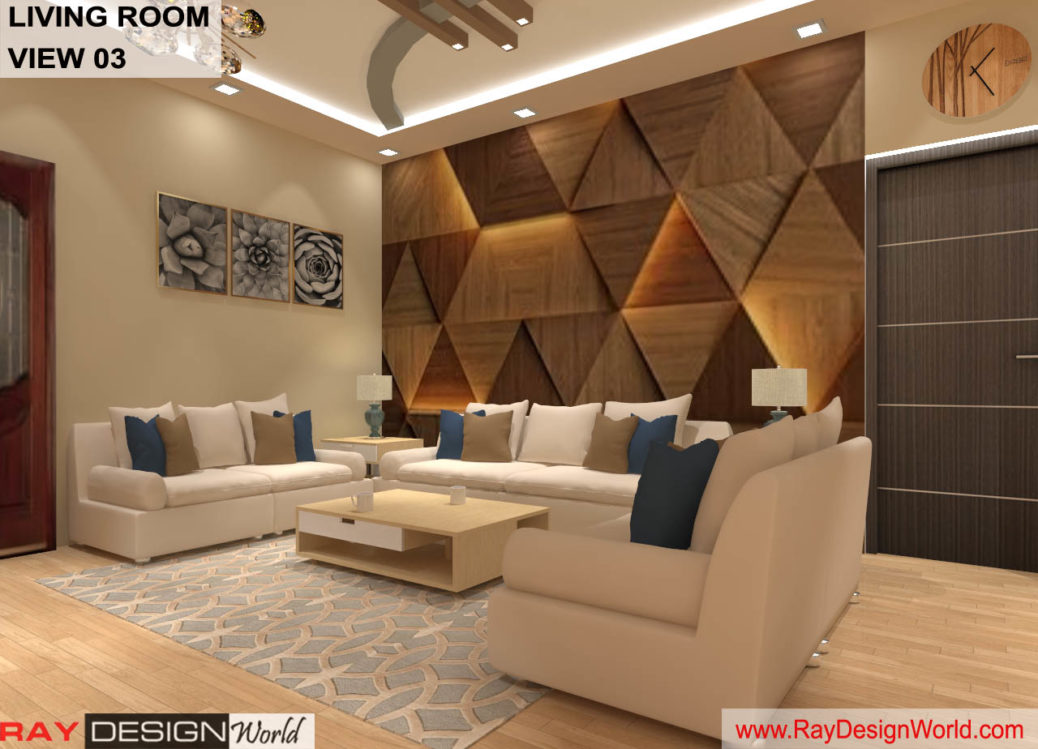 House Interior Living room Design - Bhavnagar Gujarat - Mr Amin Lakhani - 1